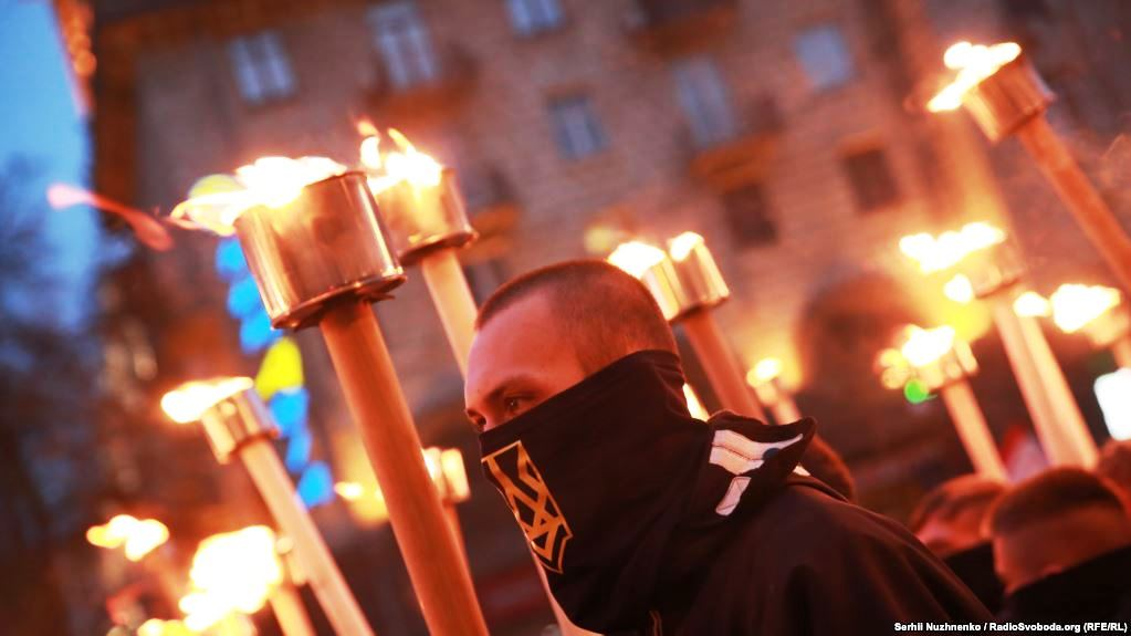 Nationalists Mark 75th Anniversary of Ukrainian Insurgent Army