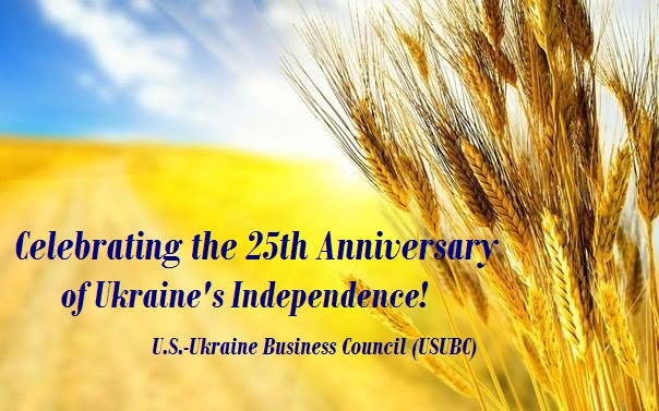 US – Ukraine Business Council presents Independence Day greetings