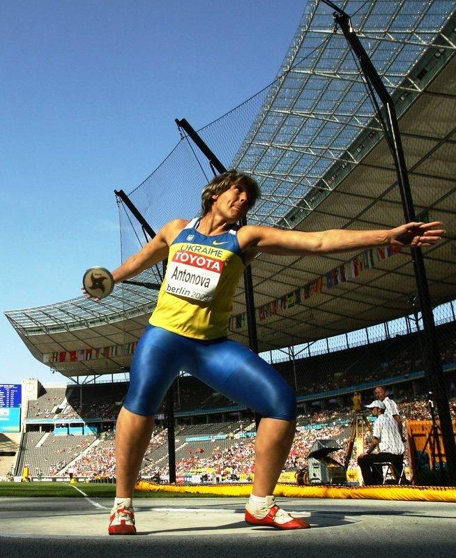 Ukraine's Olena Antonova upgraded to Olympic discus silver for 2008 Games