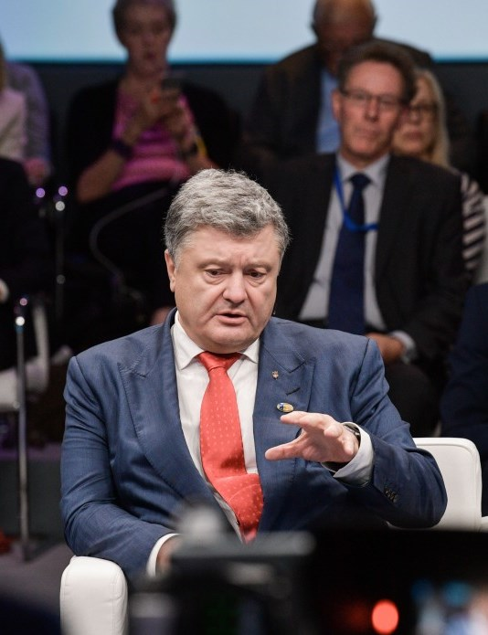 Poroshenko reiterates Ukrainian goal of NATO interoperability by 2020