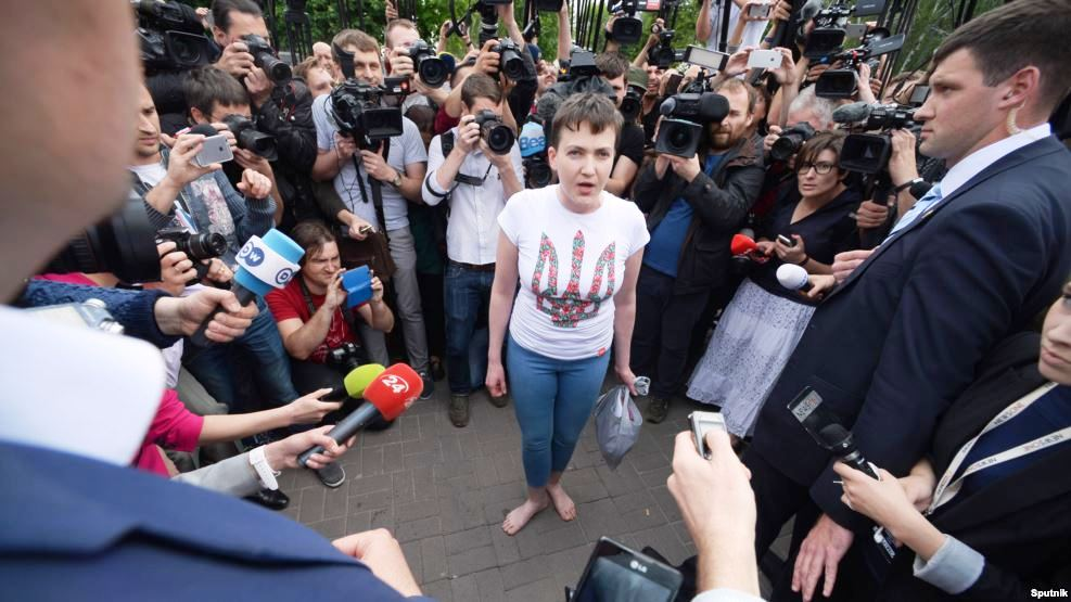 Savchenko free, Russians furious and confused