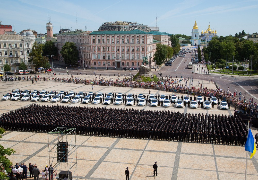 Kyiv traffic police liquidated as part of reforms