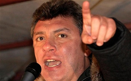 Boris Nemtsov: Scoundrels and scum are leading Russia