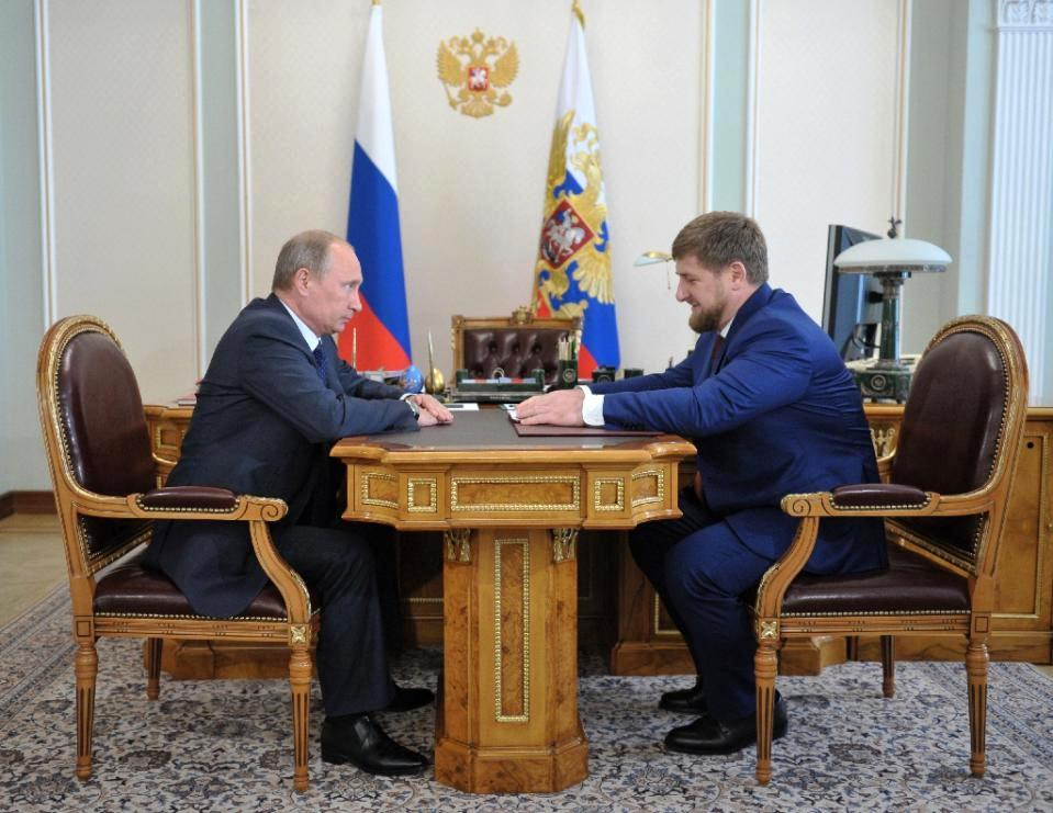 Chechnya leader gives 'shoot to kill' orders on Russian forces