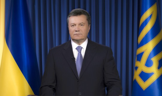 Yanukovych pushes round table as solution for national turmoil