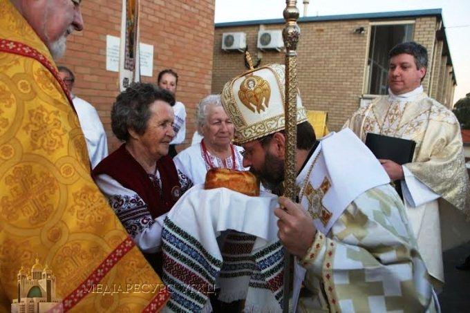 UGCC Patriarch calls on Australian Ukrainians to be unafraid to visit Ukraine