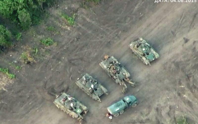 Drones Find Russian Base Inside Ukraine