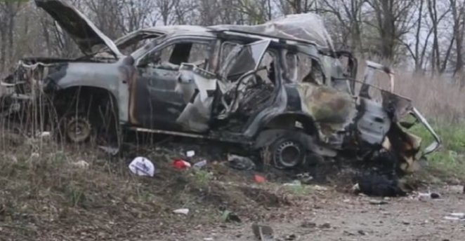 Mine explodes in occupied Luhansk, killing OSCE medic