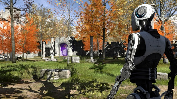 The Talos Principle review: talking philosophy with C-3PO