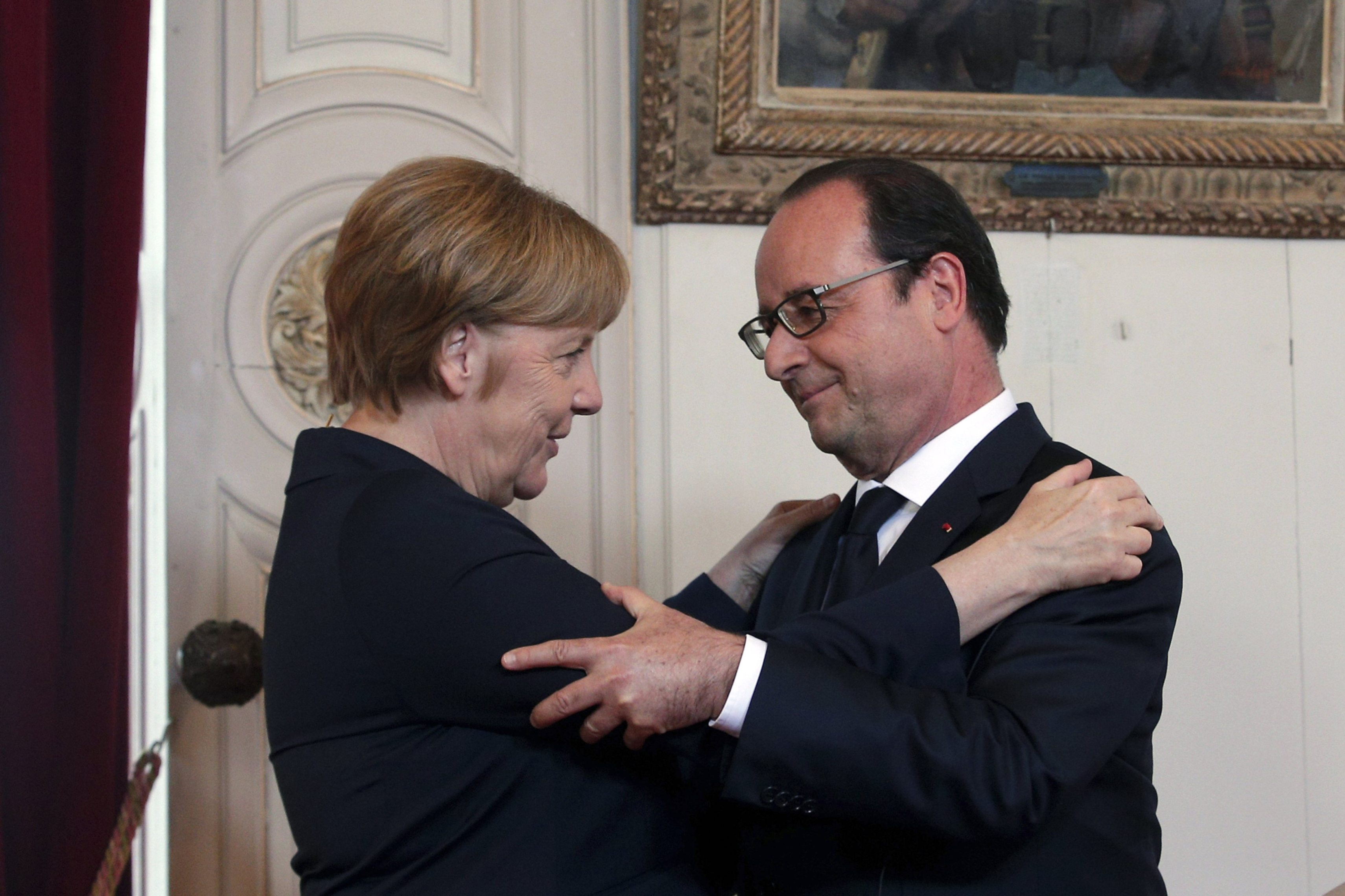 Merkel and Hollande in 'full agreement' on how to handle Brexit