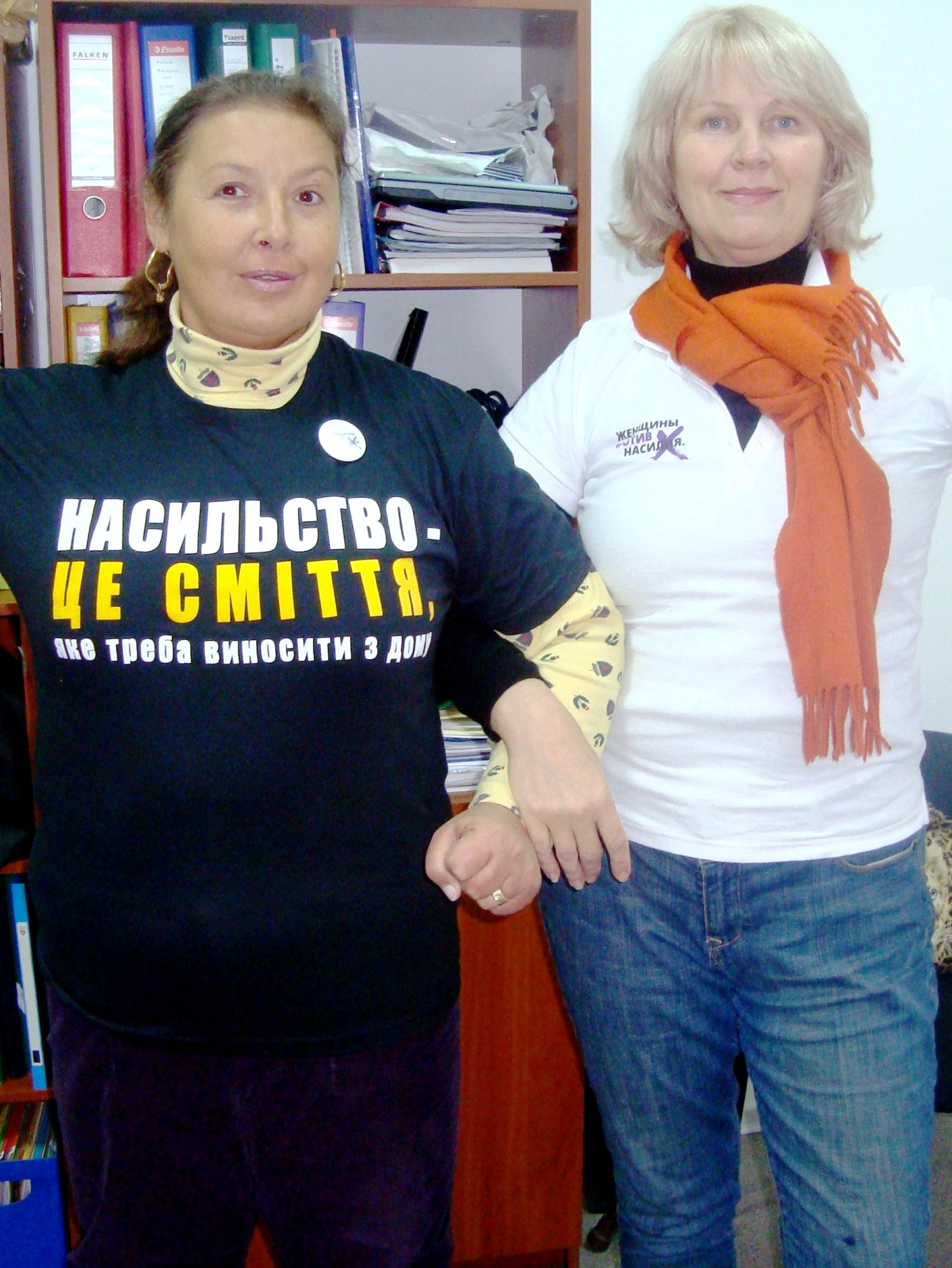 """Ukraine joins other countries in """"Women Against Violence"""" campaign"""