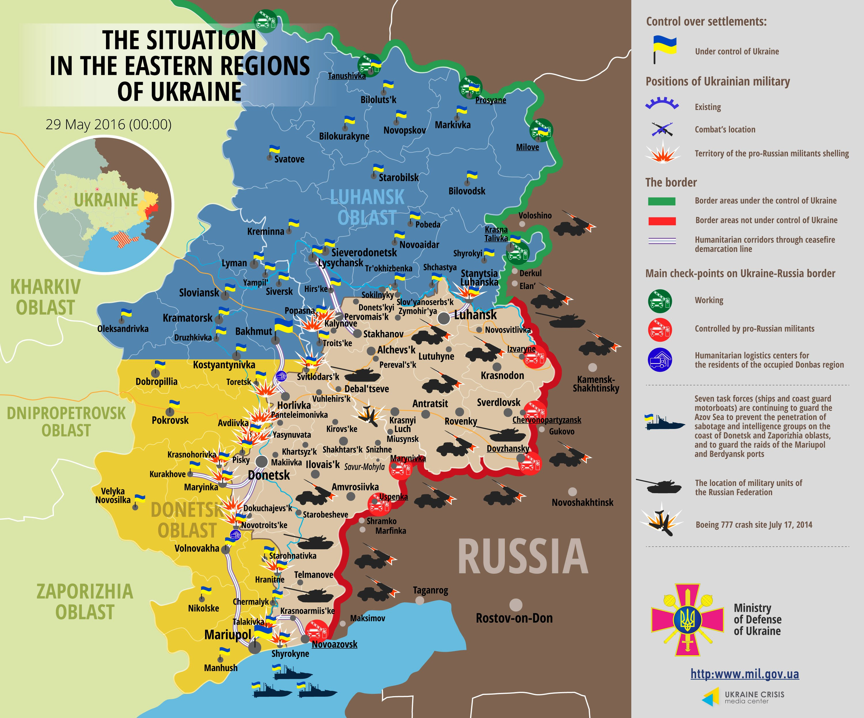 Five Ukrainian soldiers killed in new clashes in conflict zone