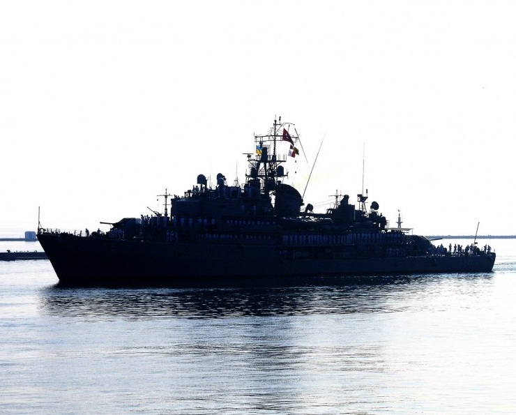 Turkish naval ships come on friendly visit to Ukraine