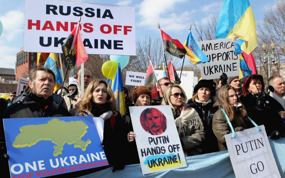 Ukraine Embassy in Washington clearly states country's position on Crimean invasion