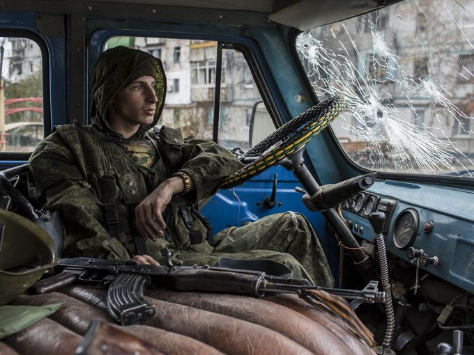 Ground zero in the battle for Ukraine: Donetsk airport