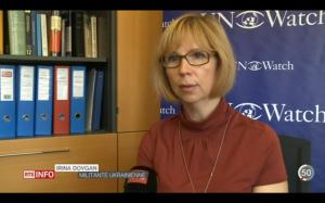 """I was tortured by Russian-sponsored militants,"" Ukrainian woman tells UN"