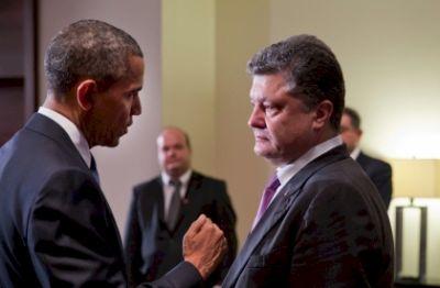 Poroshenko says Ukraine fully armed by west