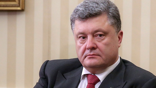 Ukrainian president: war in east cannot be won by military means alone