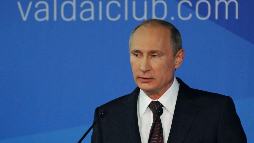 Putin blasts US in speech, blaming West for conflict in Ukraine