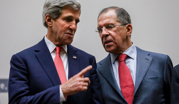 Kerry urges Moscow to implement Ukraine peace deal
