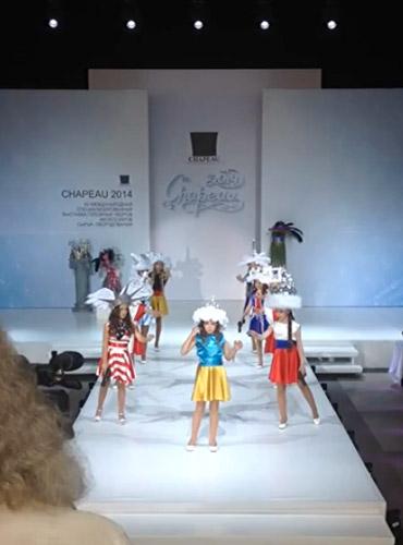 Moscow children's fashion show has 'Ukraine' commit suicide
