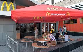Russia shuts four McDonald's restaurants amid Ukraine tensions