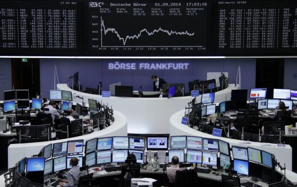 Investors look past Ukraine, focus on ECB