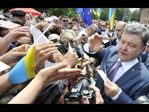 On eve of poll, Ukraine leader seeks support for pro-Europe course