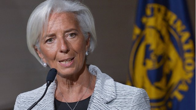 IMF Chief: Ukraine may need new bailout strategy If conflict not resolved Soon