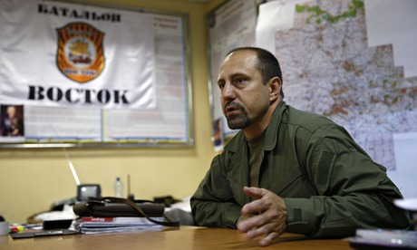 Ukraine rebel commander acknowledges fighters had BUK missile