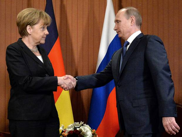 Land for gas: Merkel and Putin discussed secret deal could end Ukraine crisis