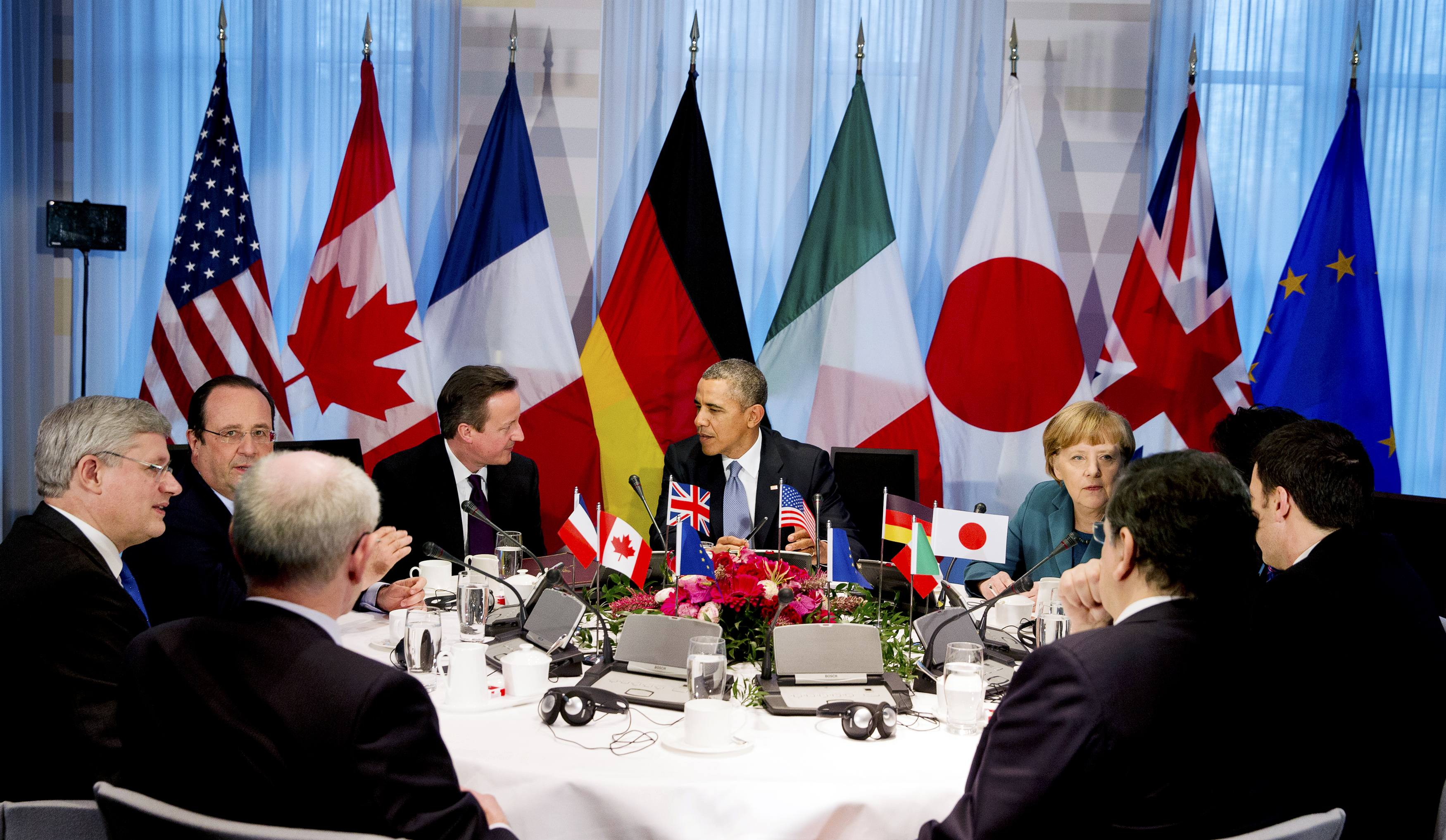 G7 leaders: statement on Ukraine