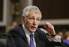 Hagel consults with new Ukrainian defense chief on ongoing war