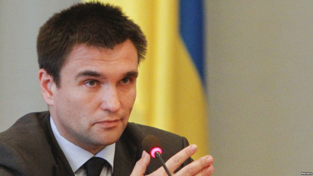Ukraine will not stop fighting for Crimea – Klimkin