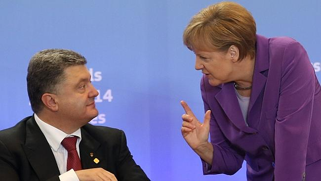 Germany pushes broad plan to settle Russia-Ukraine dispute