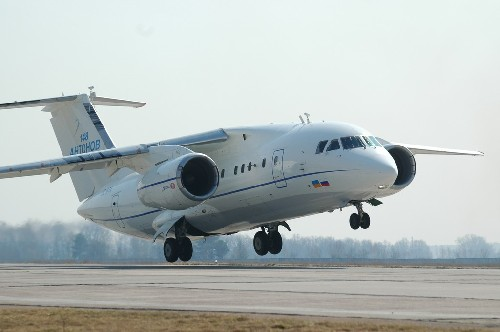 Russian Jet From Berlin Lands Safely After Wheel Scare