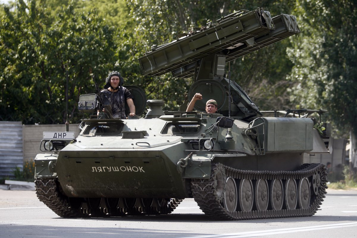 Here are all the Russian weapons separatists are using in Ukraine