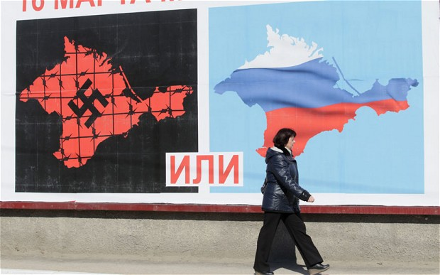 Eight months after Russia annexed Crimea from Ukraine, a complicated transition
