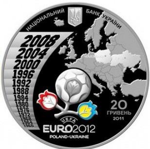 EURO 2012 coin